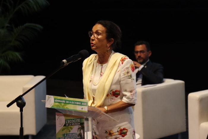 Huguette Bello (Maire Saint-Paul)